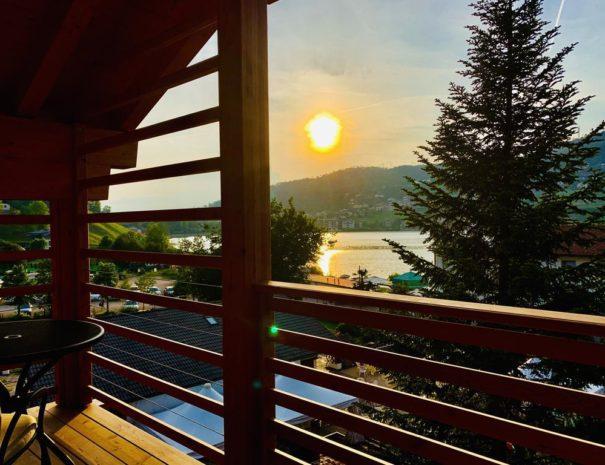 tramonto lago di Serraia - Casa Ester