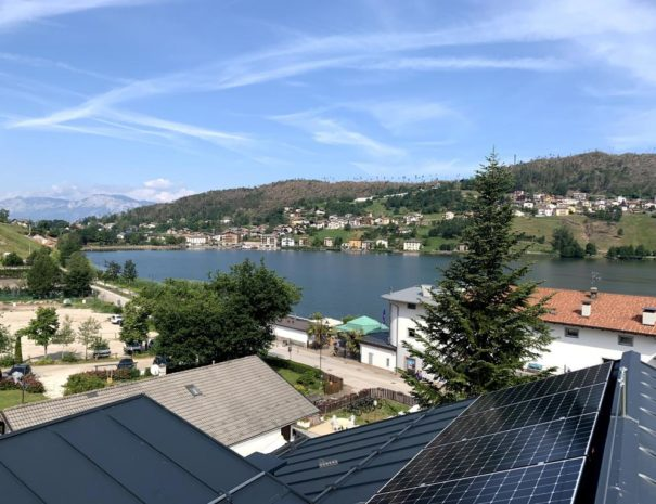Lago di Serraia - vista da Casa ester