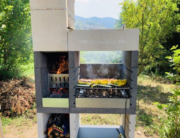 barbecue degli appartamenti Casa Ester